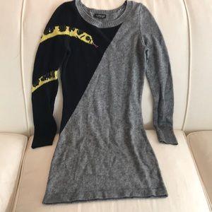 Topshop knit gray Dress size 2